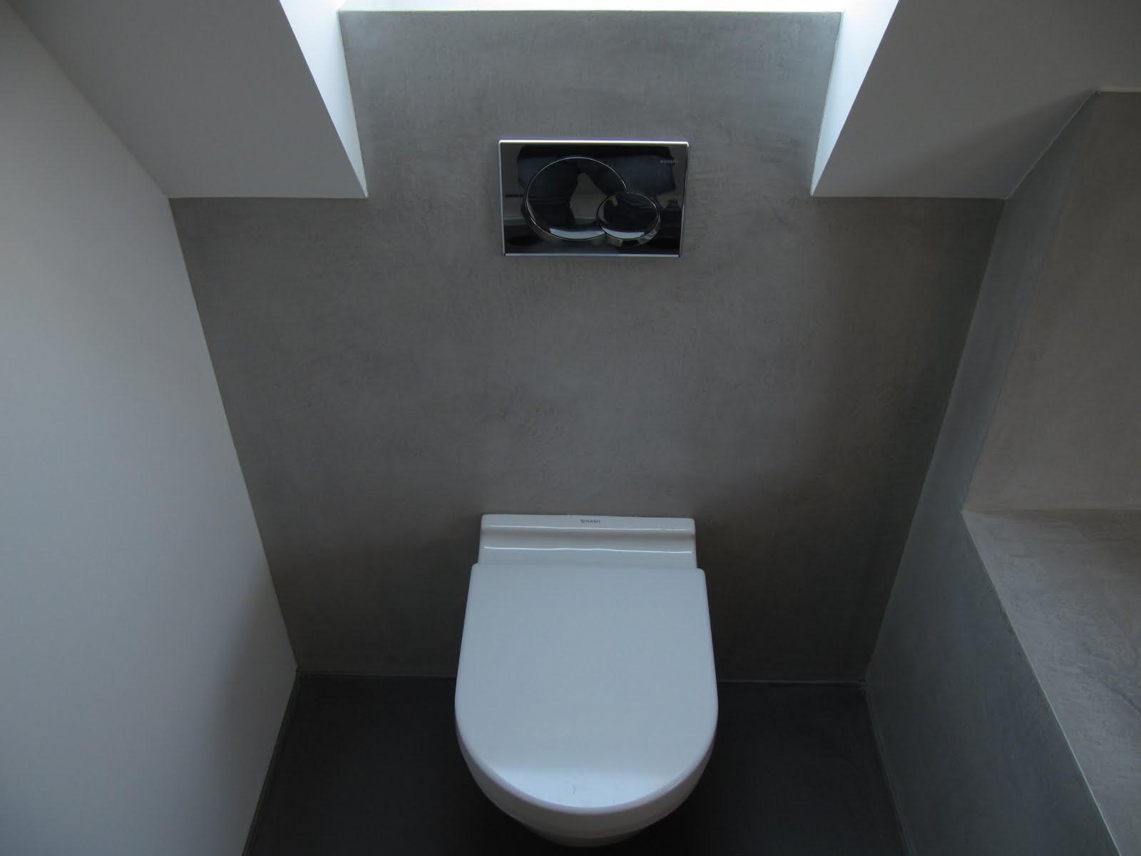 Beton cire wc beton cire