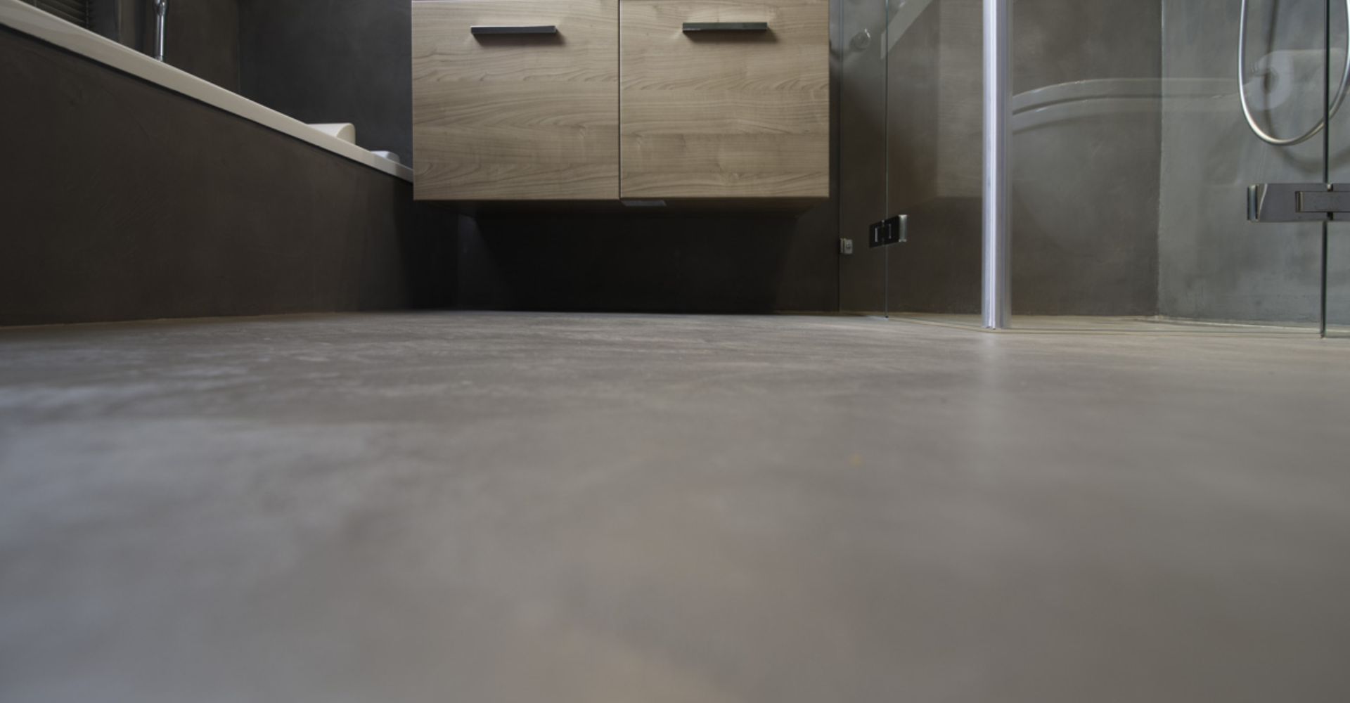 Beton In Badkamer : Beton cire badkamer beton cire