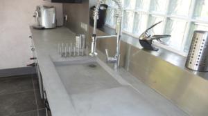 Beton Cire Keuken : Beton cire aanrechtblad beton aparte